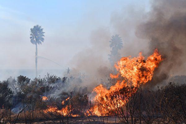 為何2017加州野火季如此猛烈? | 南加地區 | 洛杉磯大火 | 聖安娜風 | 大紀元