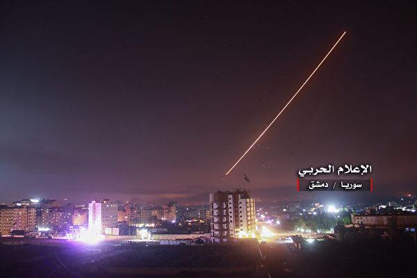 以色列還擊 空襲伊朗在敘利亞軍事設施 | 大紀元