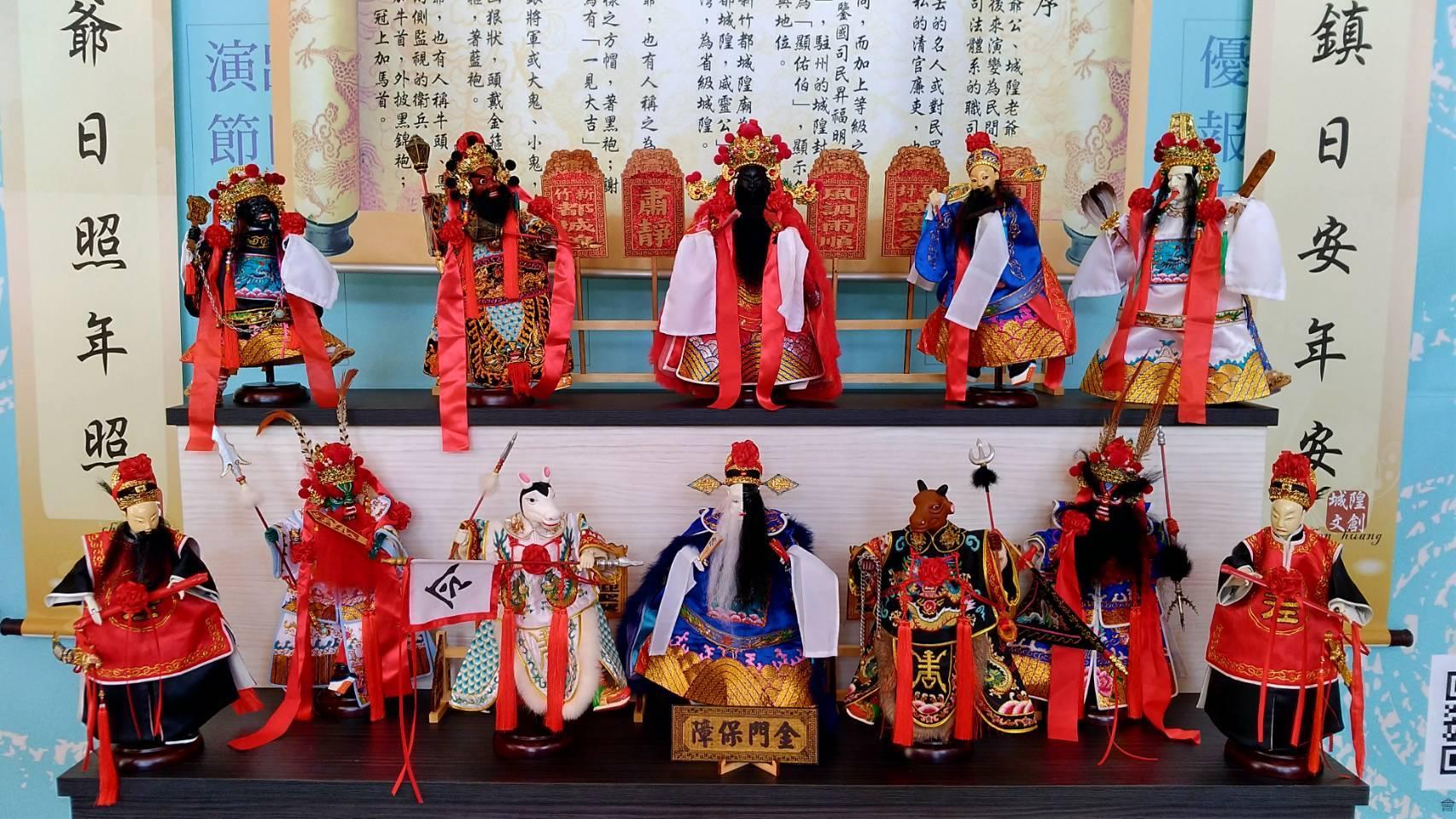 明曜獅子會文創藝展 展出珍貴布袋戲偶   偶戲藝術   傳統戲劇   大紀元