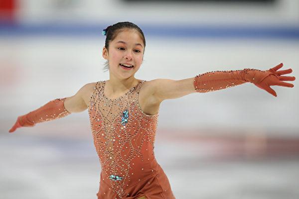 13歲華裔女孩成全美花樣滑冰最年輕冠軍   全美錦標賽   劉美賢   大紀元