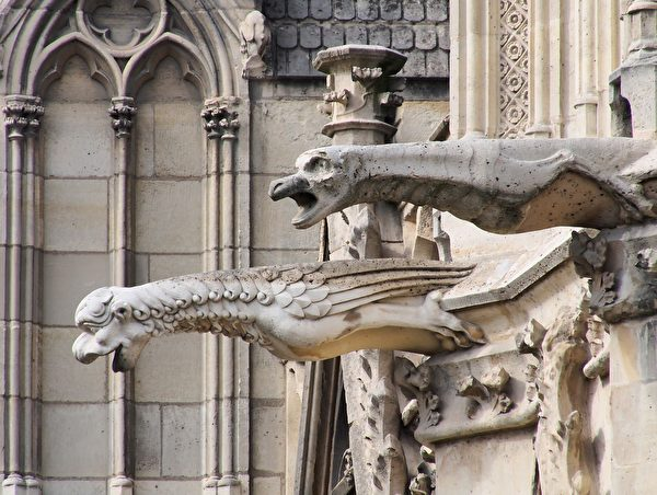 組圖:巴黎聖母院建築與雕塑之美(上) | 最後審判 | 尖塔 | 哥德式教堂 | 大紀元