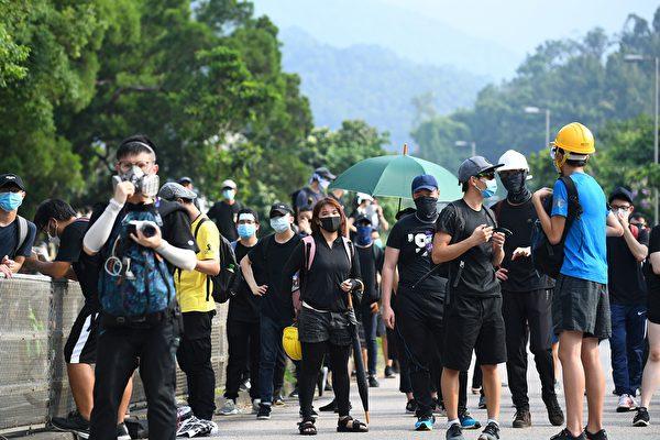 【更新】港人8‧10反送中 入夜打游擊示威 | 香港反送中 | 香港國際機場 | 大埔 | 大紀元