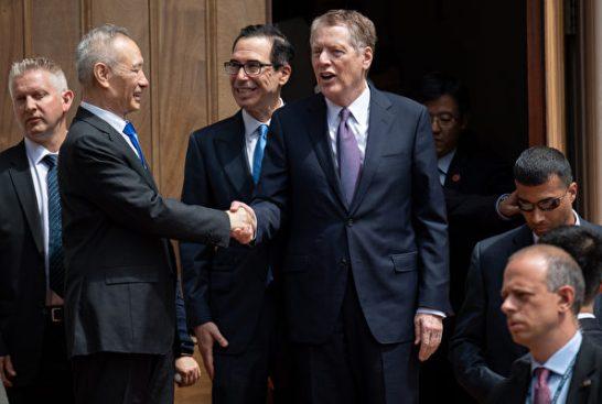 美中部長級貿易談判將重啟 白宮首次發聲