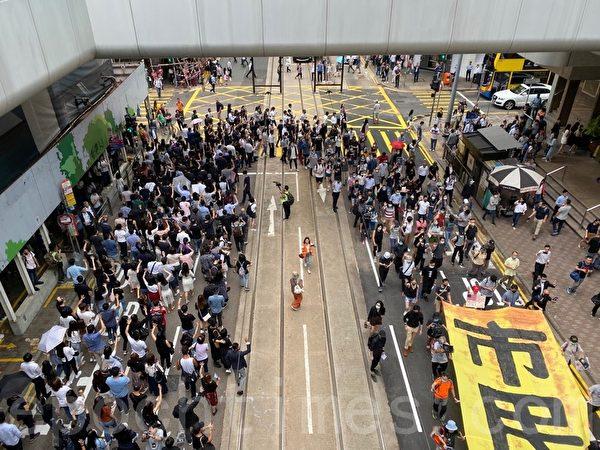 【更新】10.18港人抗暴 18區築人鏈