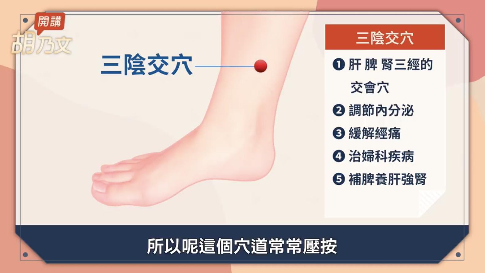 【胡乃文開講】月經怎麼補?3個穴位1類食物解經痛 | 止痛 | 痛經 | 中醫 | 大紀元