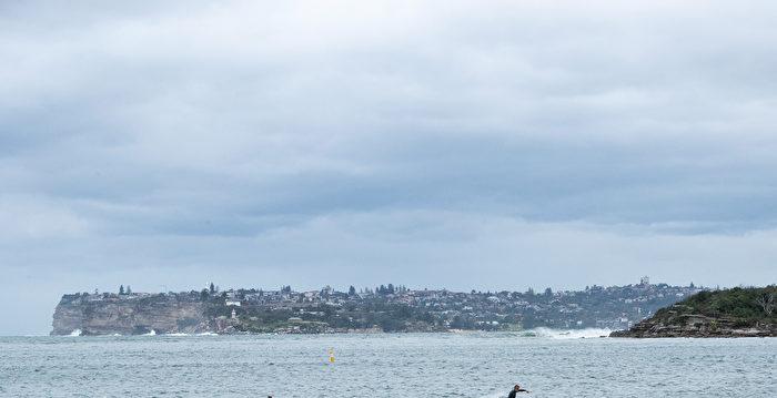 冷鋒來襲 澳洲多地出現降雨寒流天氣 | 悉尼 | 布里斯本 | 海洋天氣 | 大紀元