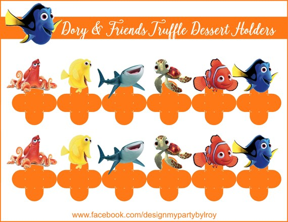Dory Dory Party Favors Dory Party Supply Forminhas