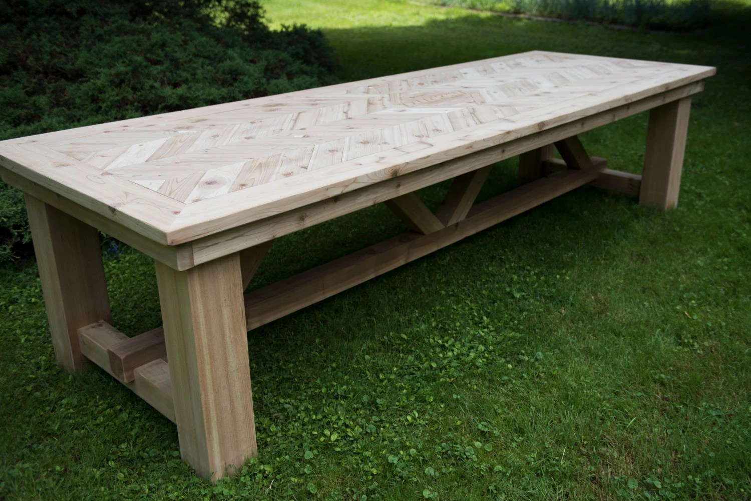 Cedar Outdoor Dining Table
