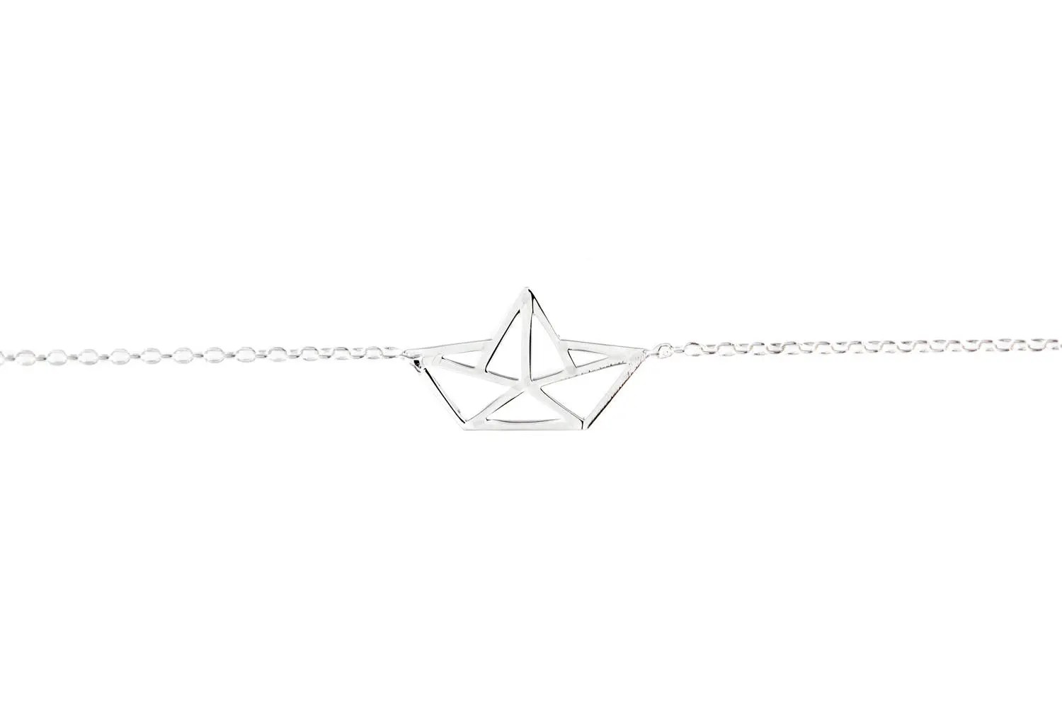 diagram origami bracelet boat trailer wiring 5 way paper gold fill or silver etsy