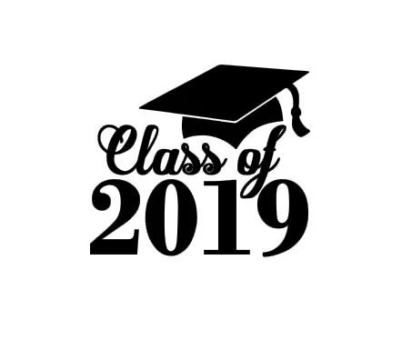 Class of 2019 Graduation instant download cut file for
