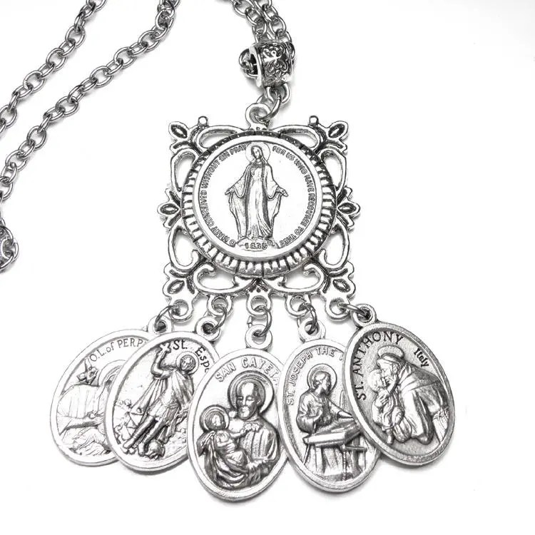 Unemployed & Financial Success Prayer Amulet Catholic