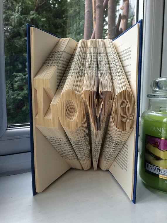 pattern for love folded
