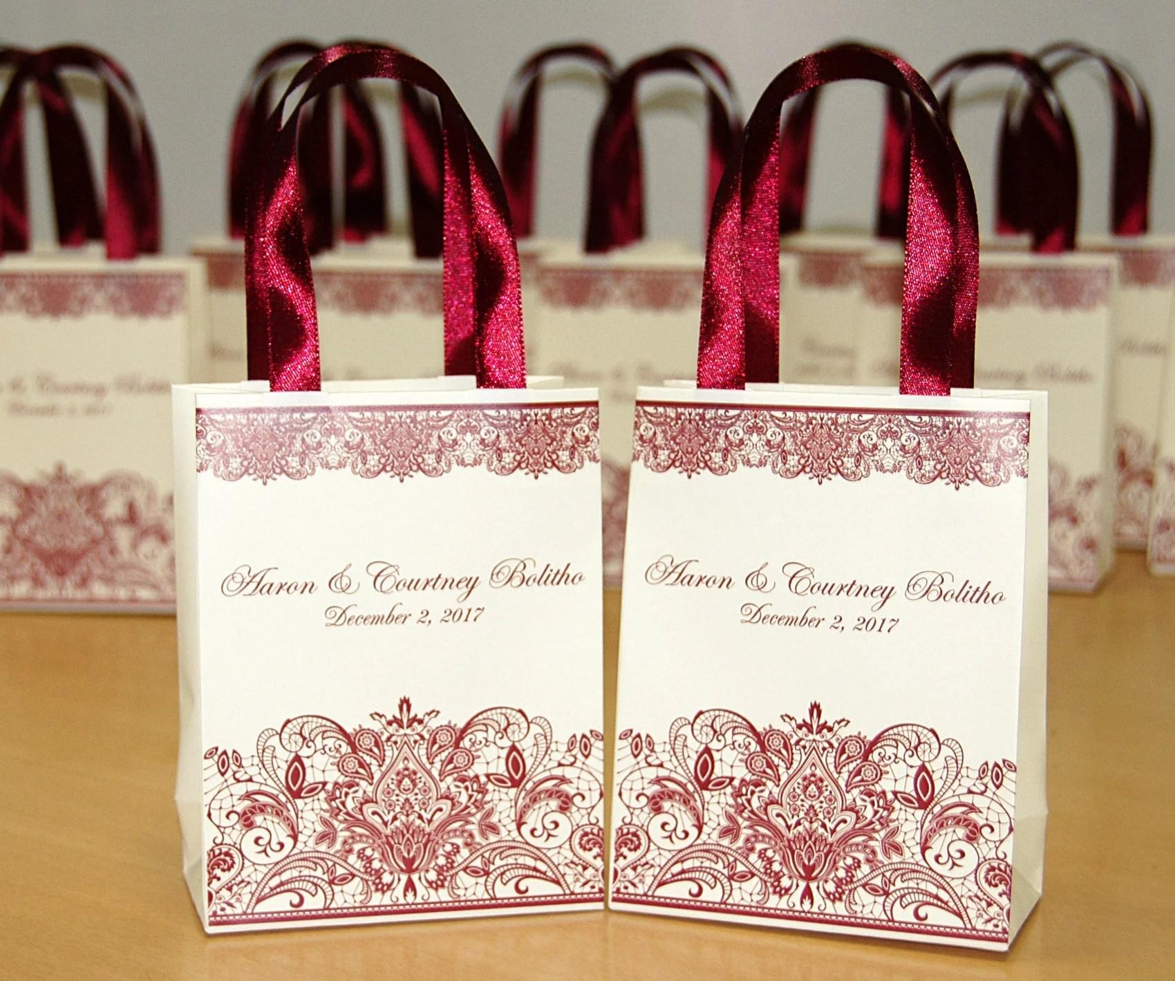 chic wedding gift bags
