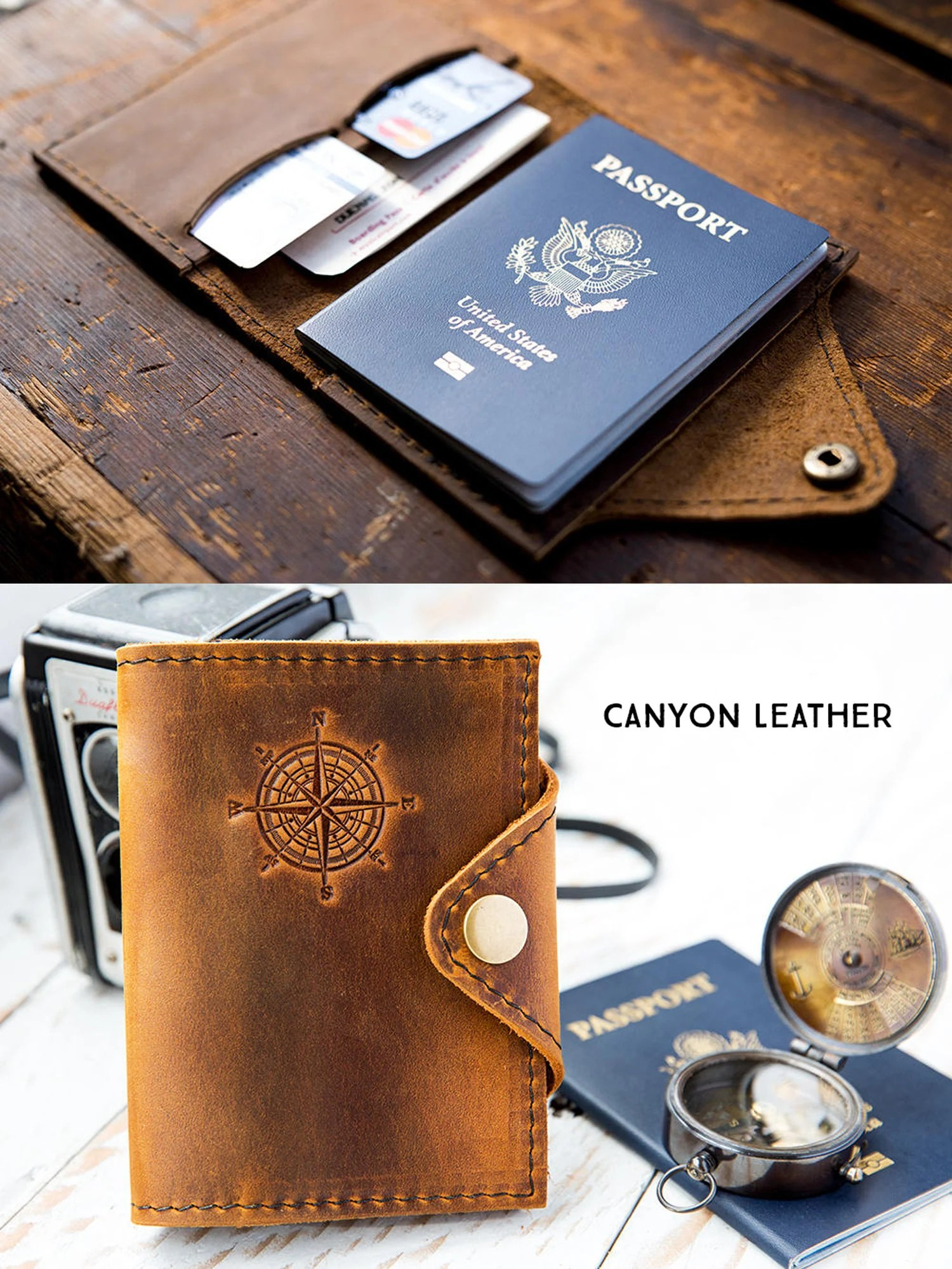 Passport Cover Travel Passport Personalized Cover... Custom image 4