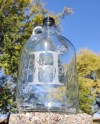 Last Name Est Date One Gallon Glass Jug Wedding Fund Etsy