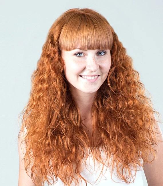 ginger blonde henna hair