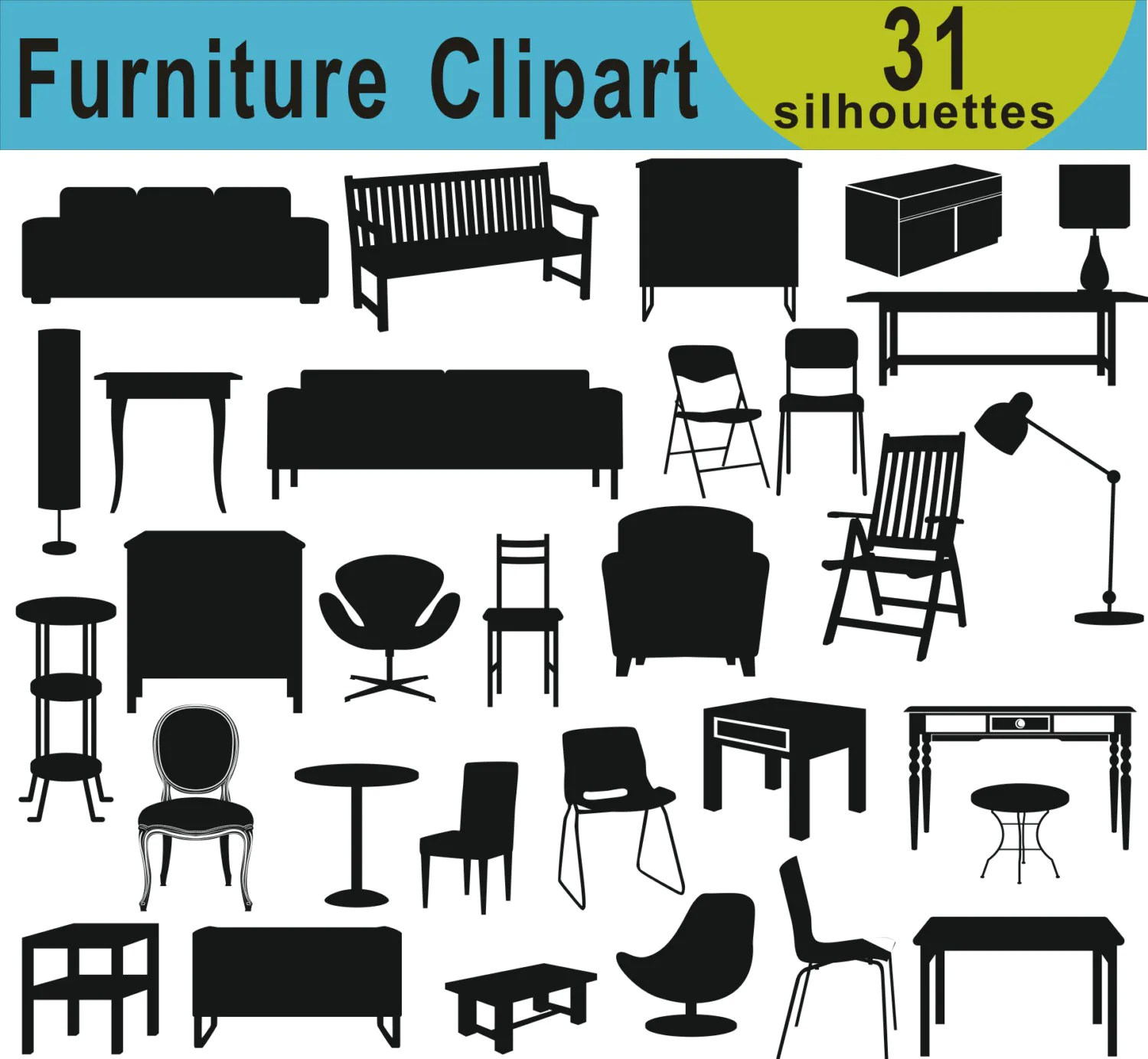 hight resolution of 50 furniture clipart