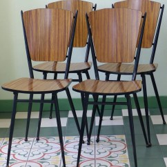 Vintage Kitchen Chairs Banquette Ideas Formica 1960s 1960 S Etsy Image 0