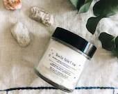 Sciatic Relief Rub // Sciatica Massage Oil // Pregnancy and Nursing Safe // 4oz Glass Jar // 100% Pure // Organic // Pregnancy Gift