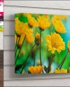 Gallery Wrap Canvas Photoshop Print Mockup 11x14in 1 5 Deep Etsy