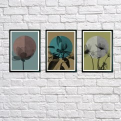 Framed Wall Art For Living Room Window Decorating Ideas Etsy Set Of 3 Print Decor Lounge Abstract Prints