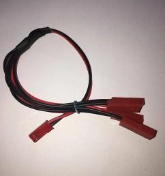 traxxas vxl dual fan wiring harness jst plug splitter 1m4f etsyesc wiring harness 10 [ 794 x 1059 Pixel ]