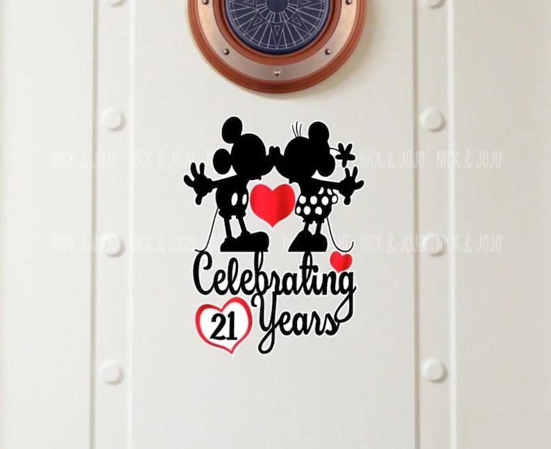 personalized anniversary disney cruise
