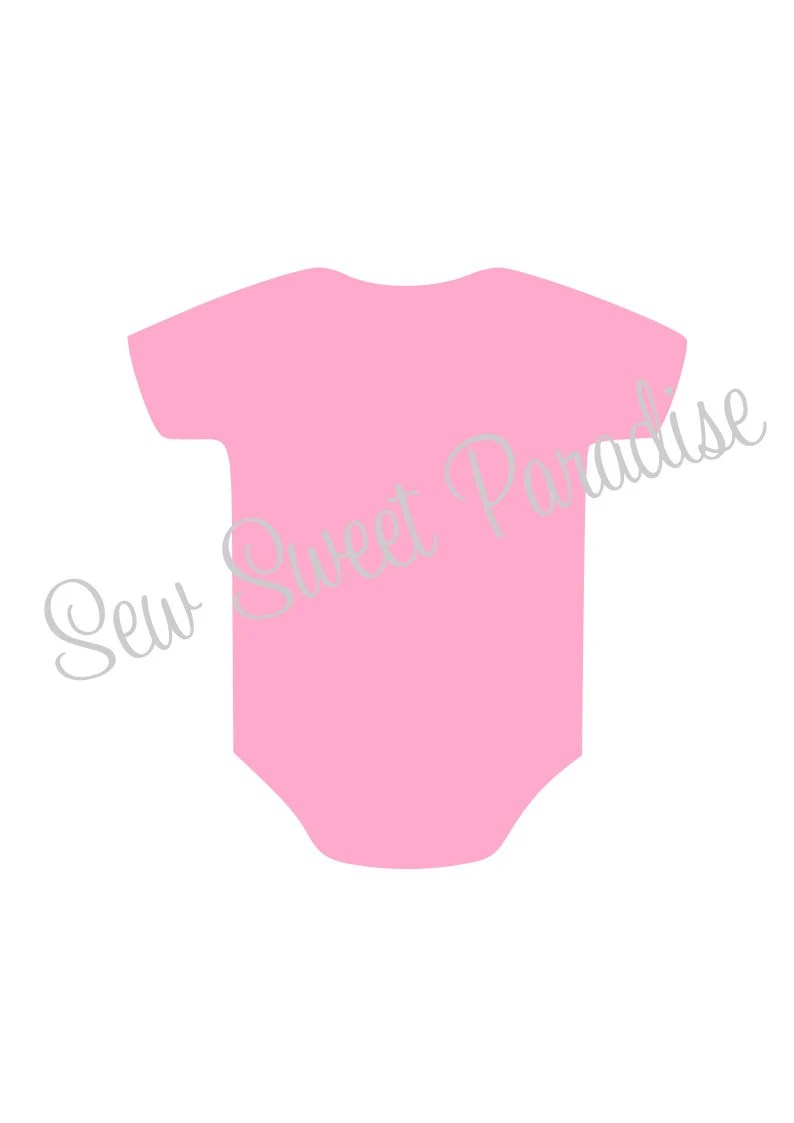Download Baby Onesie SVG File Digital Download for Cricut and | Etsy