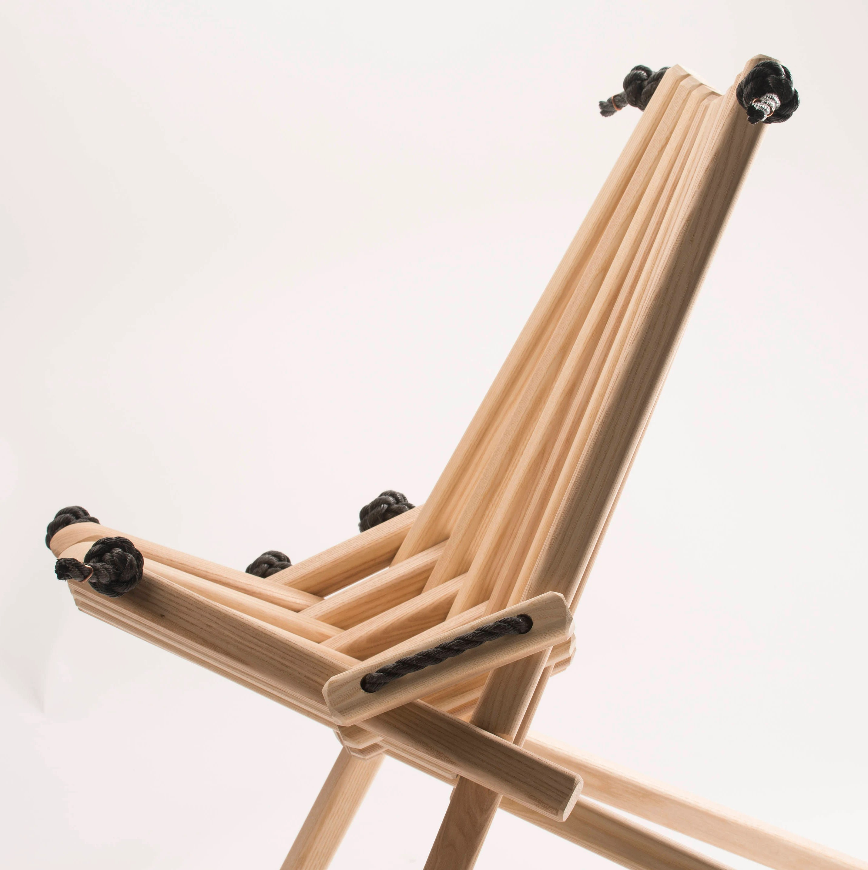 folding chairs wooden small recliner chair special edition ash pioneer stick etsy image 0