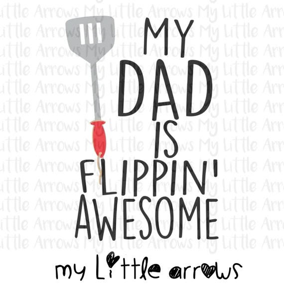 Download My dad is flippin awesome SVG DXF EPS png Files for ...