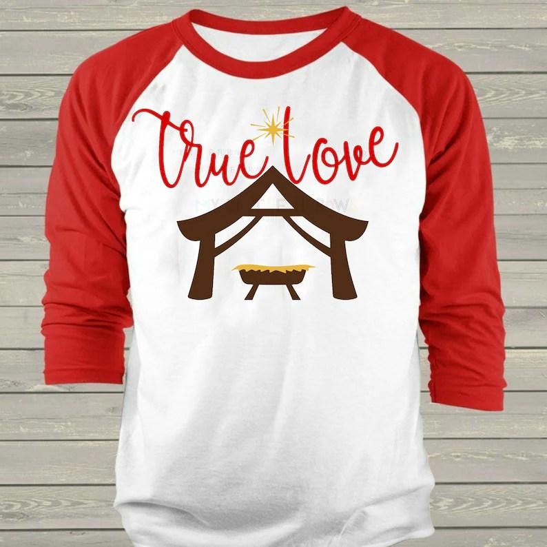 Download True love manger svg Christmas true love svg nativity svg ...