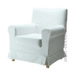 Chair Cover Ikea Malaysia Wedding Hire Cumbria Karlstad Etsy Slipcover For Ektorp Jennylund Armchair