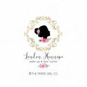 beauty logo make- artist