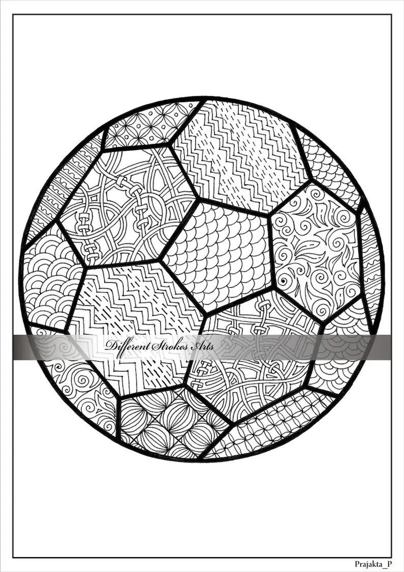 Erwachsenen Ausmalbilder Fußball Malvorlagen für