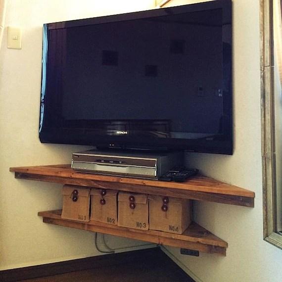 etageres d angle etagere d angle etageres de mur etageres rustiques stand de tv d angle unite d angle etageres suspendues etageres en bois
