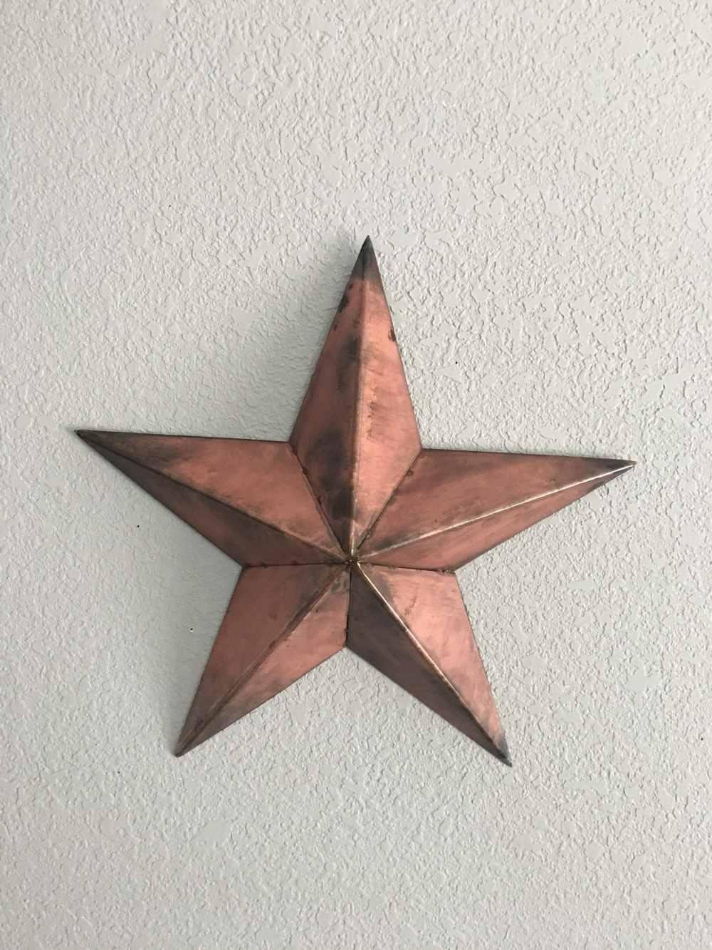 medium resolution of metal country star wall decor star five point star steel star home decor wall art