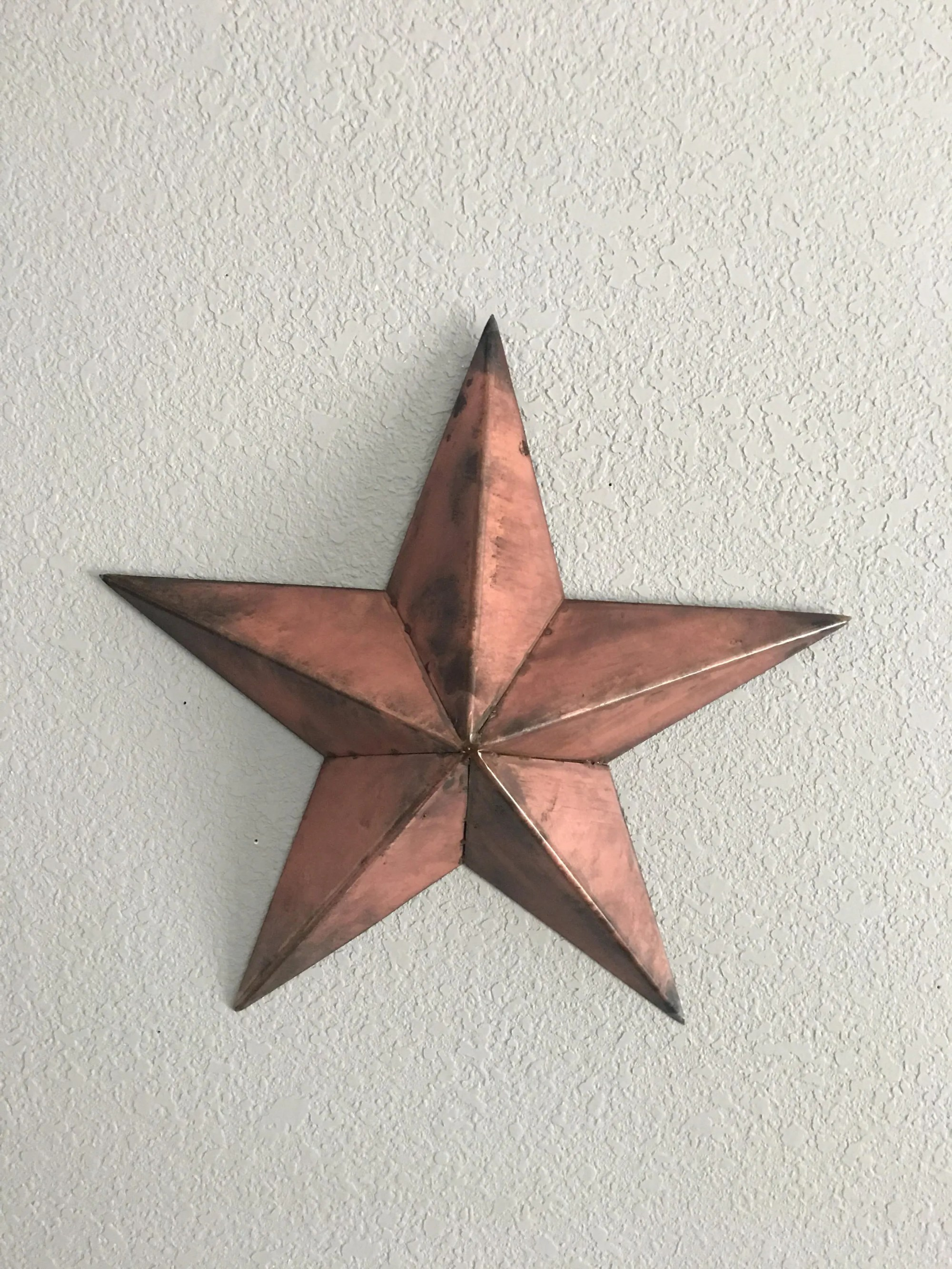 hight resolution of metal country star wall decor star five point star steel star home decor wall art
