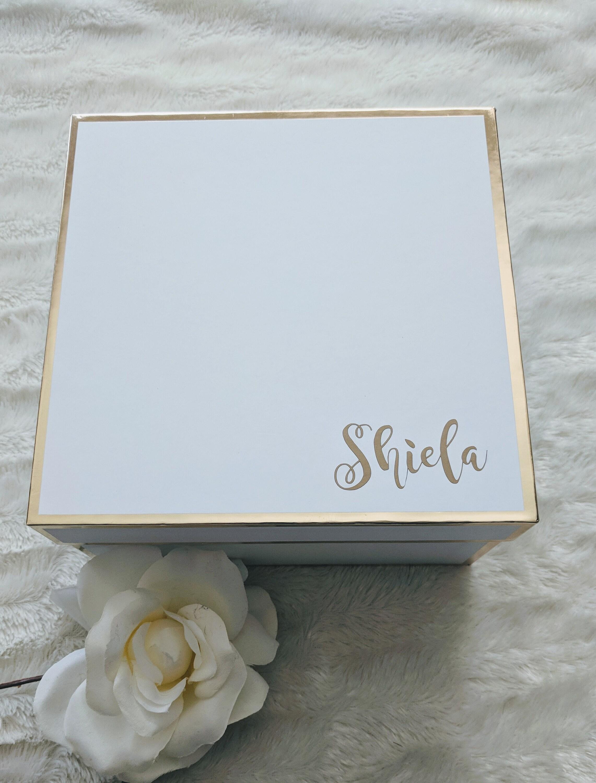 Custom Bridesmaid Proposal Box Decal Bridesmaid Box Decal image 2