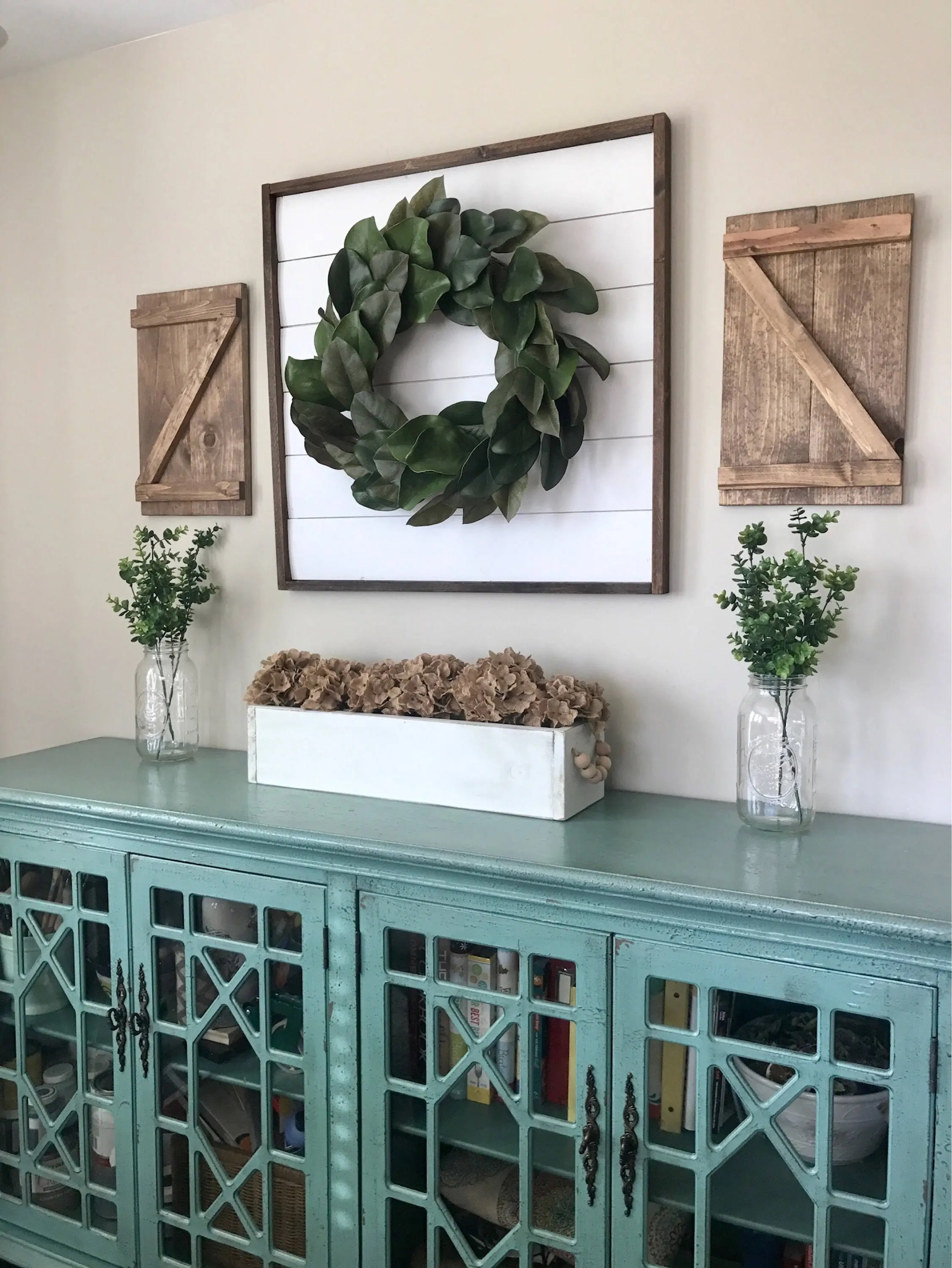 Pair Of Small Decorative Z Wood Shutters Rustic Shutters Farmhouse Shutters Shutter Decor Barn Doors Interior Shutters More Options
