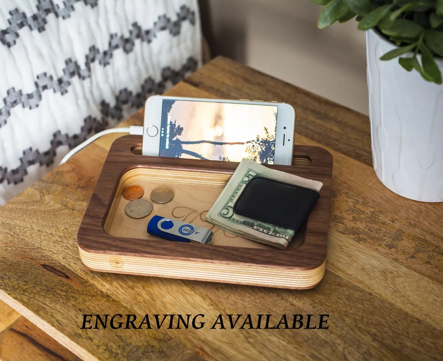 charging station mens personalized
