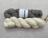 Illustrious Naturals - West Yorkshire Spinners - Colour: Old Lace #010 - 100g - Falkland Island wool & British Alpaca - DK weight