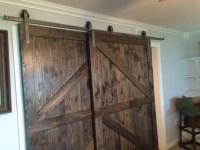 Bypass Sliding Barn Door Hardware Kit with Track System ...