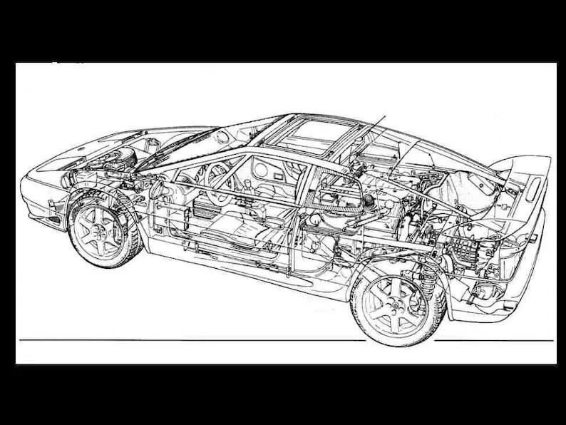 LOTUS ESPRIT Turbo S4 V8 Workshop Parts & Owners Manuals