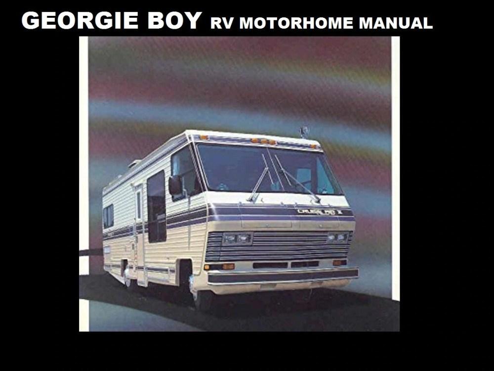 medium resolution of georgie boy 1980 1990 motorhome manuals 410 pgs with rv etsy