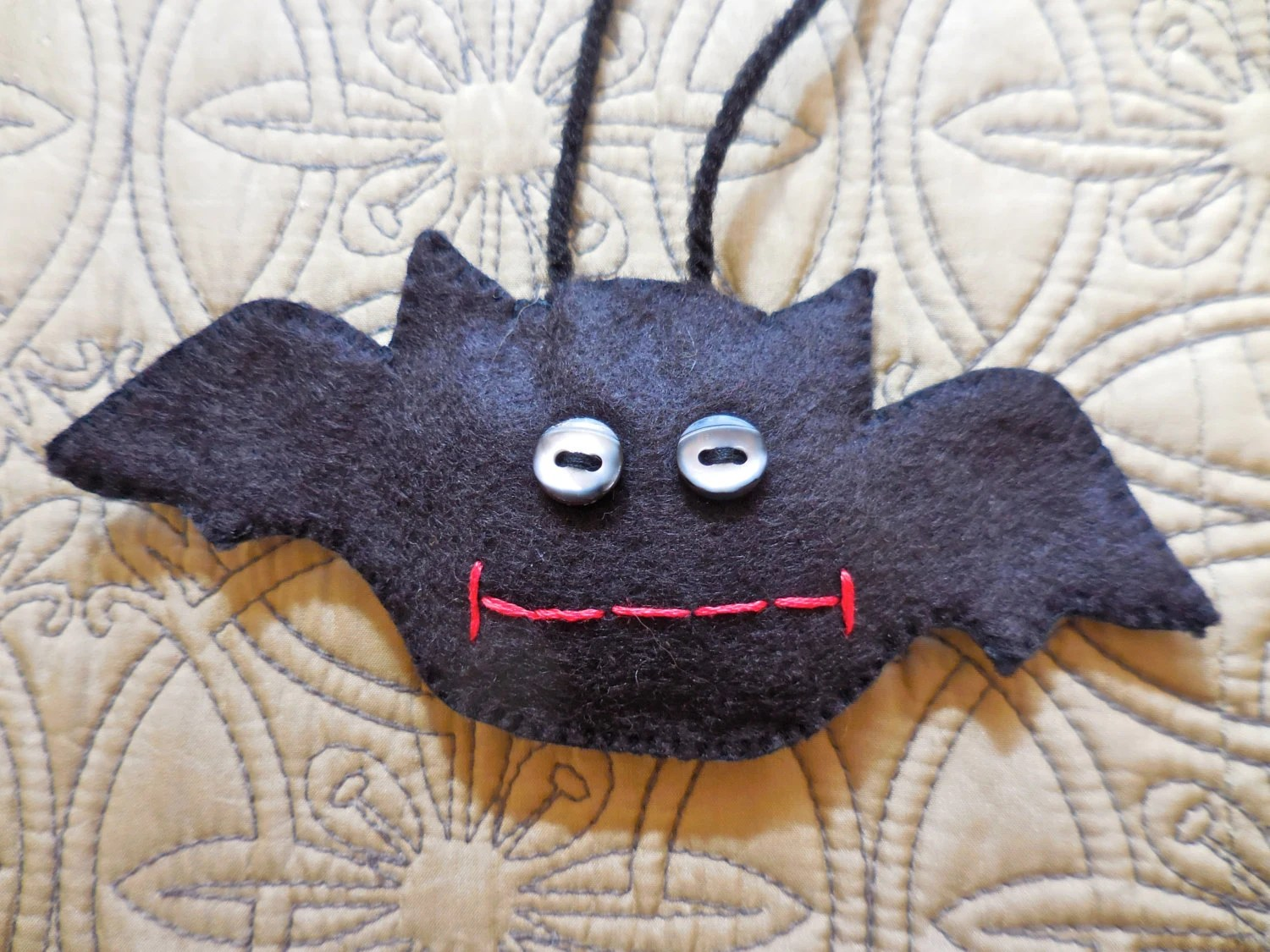 Halloween Bat Black Bat Halloween Decoration Felt Bat