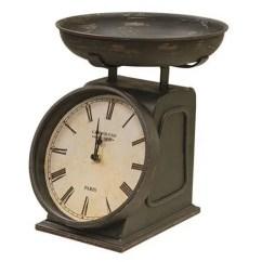 Rustic Kitchen Clock Apartment Cabinet Ideas Scale