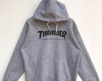 Thrasher clothing   Etsy