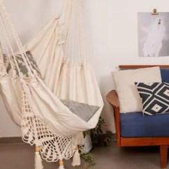 Swing Chair With Stand Kuwait Adirondack Ottoman Plans Hanging Etsy Hammock Boho Chic Super Comfy Swinging Macrame