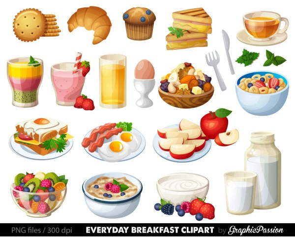 food clipart breakfast cake clip