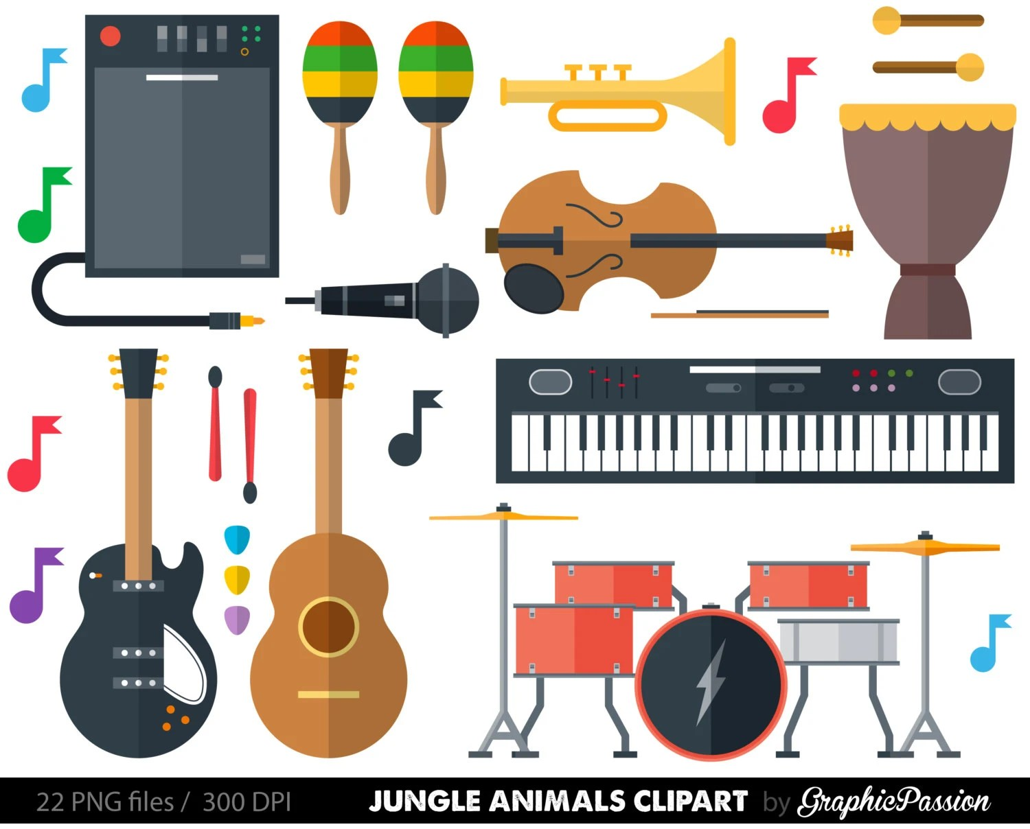 hight resolution of 50 musical instrument clipart